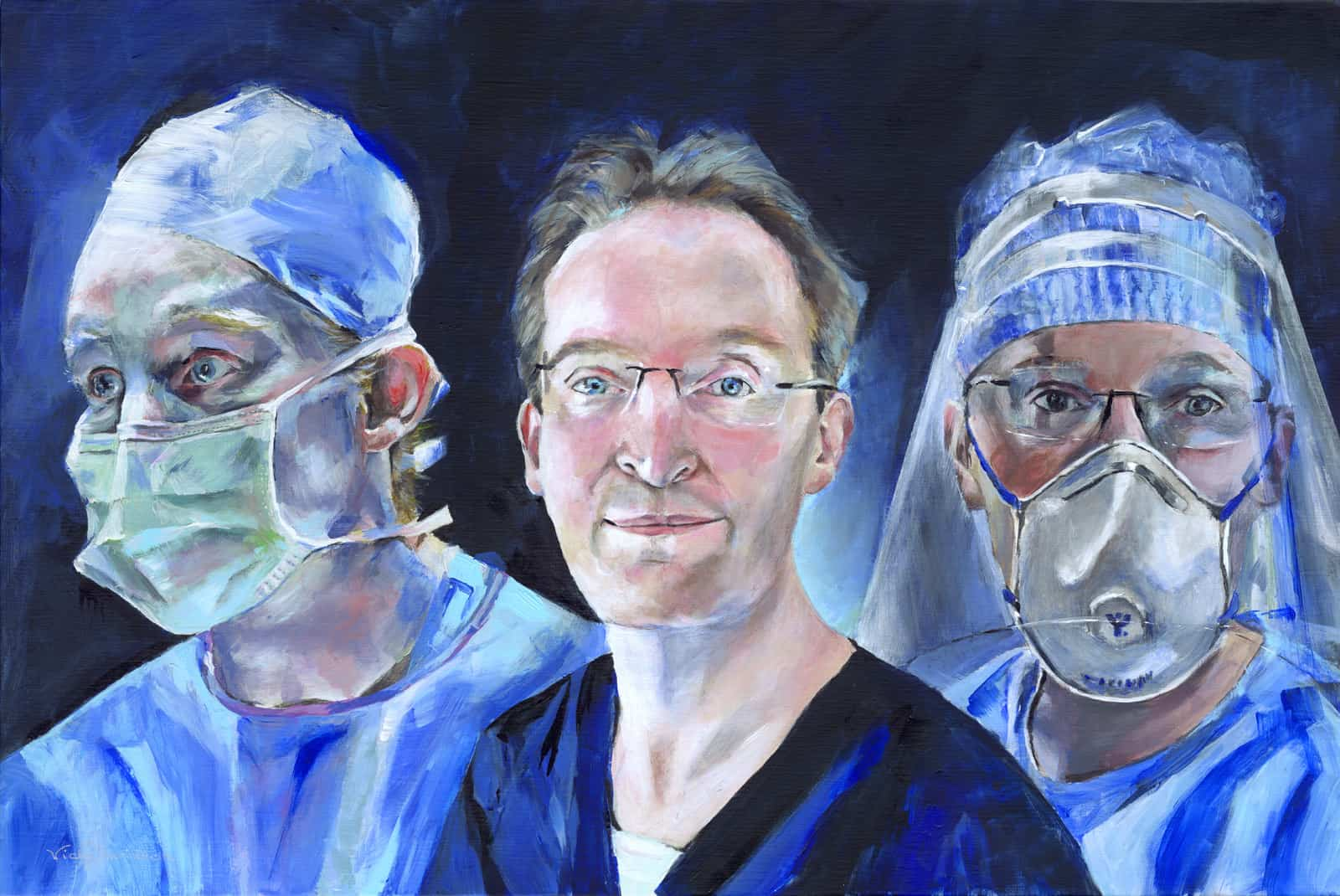 Portraits for NHS Heroes – Book to be Published