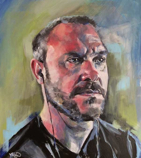 Painting Will Young