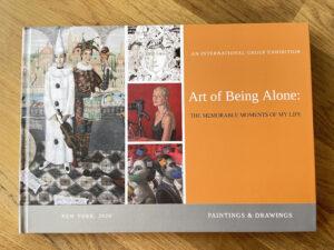 Art of Being Alone, Artios Gallery Brochure, 2020