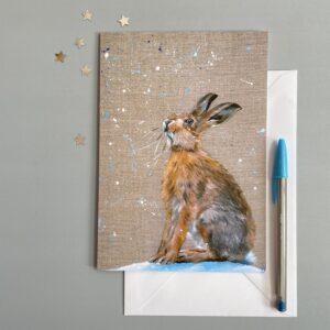 Snowfall Hare by Vicki Davidson