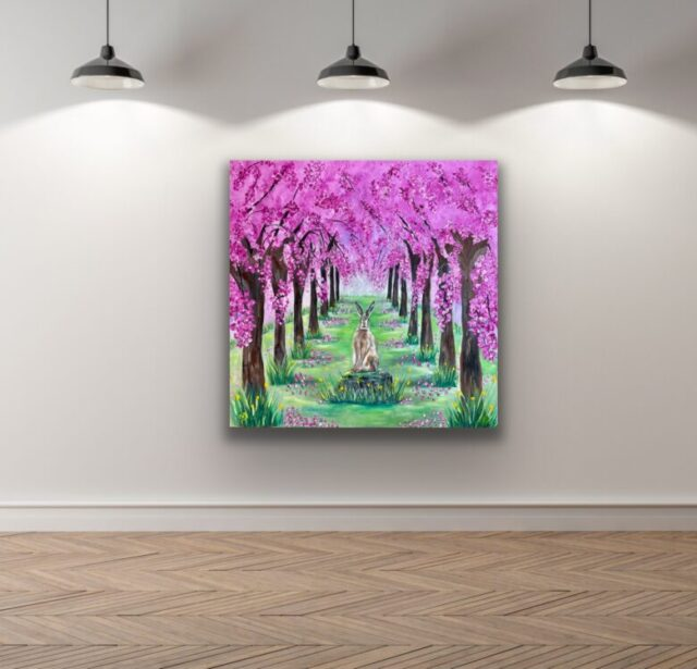 Blossom Avenue, gallery view